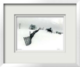 Untitled - Fence Limited Edition Framed Print by B. A. King