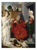 Abraham, Sarah et l'Ange Lámina giclée por Jan Provost
