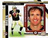 Drew Brees 2010 Studio Plus Photo