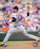Mike Pelfrey 2010 Action Photo
