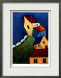 The Crooked Hill Limited Edition Framed Print by Carol Ann Shelton