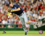 Chipper Jones 2010 Action Photo