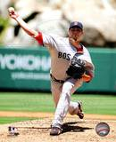 Josh Beckett 2010 Action Photo