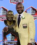 Emmitt Smith 2010 NFL Hall of Fame Induction Photo