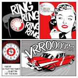Comic Strip I Posters by Tom Frazier