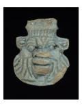 Amulette de style égyptien : masque du dieu Bes Lámina giclée