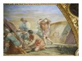 Appartements d'été de la reine Anne d'Autriche : Grand Cabinet de la Reine Giclee Print by Giovanni Francesco Romanelli