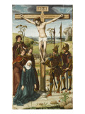 Altarpiece of St. Martin, the Crucifixion of Christ Giclee Print by de Rio Frio Maître