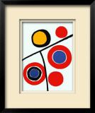 Composition IV Limited Edition Framed Print by Alexander Calder