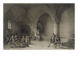 Album Vendee: Vendee Prisoners in Mont Saint-Michel Giclee Print