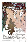 Salon des Cent Poster by Alphonse Mucha