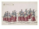 """Album: """"Musique servant de récit au Grand Ballet"""", dix-sept figures Giclee Print by Daniel Rabel"""