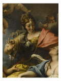 Allegory of France in the Guise of Minerva (Wisdom) Giclée-tryk af Sebastiano Ricci