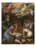 Adoration des Bergers Lámina giclée por Abraham Bloemaert