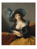 Antoinette-Elisabeth-Marie d'Aguesseau, comtesse de Ségur (1756-1828) Giclée-Druck von Elisabeth Louise Vigée-LeBrun
