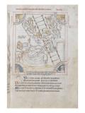 Recueil d'écrits sur Saint Benoît par Jean de Stavelot Giclee Print