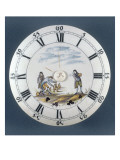 Clock Face Tile Regional: Part of Bowling Balls Or Giclee Print