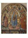Retable Rinieri Reproduction procédé giclée par d'Antonio Francesco