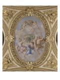 Appartements d'été de la reine Anne d'Autriche : Salon de la Paix Giclee Print by Giovanni Francesco Romanelli
