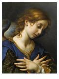 Ange de l'Annonciation Lámina giclée por Carlo Dolci