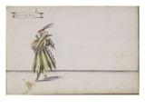 """Album;Ballet des Fées de la forêt de Saint Germain; """"Récit de la Follie"""" Giclee Print by Daniel Rabel"""