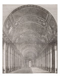 &quot;Versailles immortalis&#233;&quot;, par Jean-Baptiste Monicart en 1730 Giclee Print