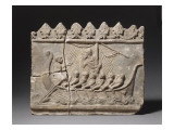 """Plaque Campana Decorative: Ulysses and the Sirens Reproduction procédé giclée"