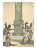 Ah, We are Proud to Be French When You Look at Column Giclee Print