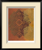 Golden Henna I Limited Edition Framed Print by Chariklia Zarris