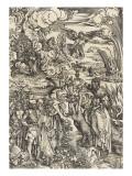 Apocalypse of Saint John - the Prostitute of Babylon Giclée-Druck von Albrecht Dürer