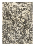 Apocalypse of Saint John - the Prostitute of Babylon  Giclee Print by Albrecht Dürer