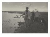 Coming Home from the Marches (le retour des marais) Giclee Print by Peter Henry Emerson