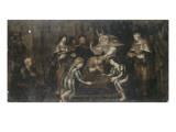 L'Onction de Salomon Giclée-Druck von Cornelis de Vos