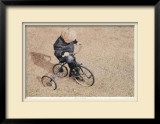 Jesse`s Tricycle Limited Edition Framed Print by B. St Clair