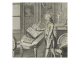 """Trait Patriotism Charles Lameth in 1791"" (1757-1832) Giclee Print"