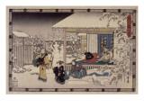 Acte IX Giclee Print by Ando Hiroshige