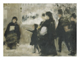 La Toussaint Giclee Print by Emile Friant