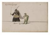 """Album; Ballet des Fées de la forêt de Saint Germain ; """"Guillemine la Quinteuse"""" et une grenouille Giclee Print by Daniel Rabel"""