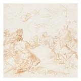 Adoration des bergers Giclée-Druck von Arnould de Vuez