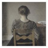 """Huile"" (repos) Giclee Print by Vilhelm Hammershoi"