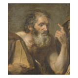 Un Philosophe Giclee Print by Jacques-Louis David