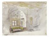 Album du voyage en Afrique du Nord : intérieur arabe Giclée-tryk af Eugene Delacroix