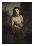 Une mendiante Giclee Print by Hugues Merle