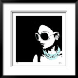 Glam IV Limited Edition Framed Print by M.J. Lew