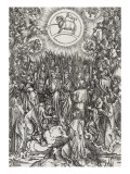 Apocalypse of Saint John - the Adoration of the Lamb&#160; Giclee Print by Albrecht D&#252;rer
