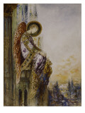 Ange voyageur Reproduction proc&#233;d&#233; gicl&#233;e par Gustave Moreau