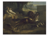 Char antique Giclee Print by Antoine Charles Horace Vernet