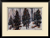 Snow Mist Limited Edition Framed Print by Tom Mathews