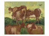 Les vaches, d'après Jacob Jordaens et Van Ryssel Giclee Print by Vincent van Gogh
