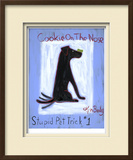Cookie on the Nose 1 Limited Edition Framed Print by Ken Bailey